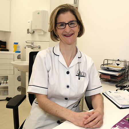 Ruth Dougan Practice Nurse Ashdown Medical Centre
