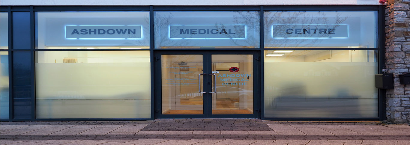 Ashdown Medical Centre - For all your healthcare needs.